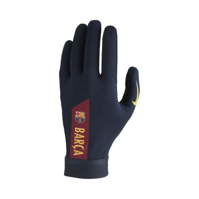 Nike HyperWarm FC Barcelona Academy Football Gloves