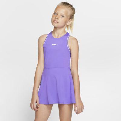 NikeCourt Dri-FIT tenniskjole til store barn (jente)