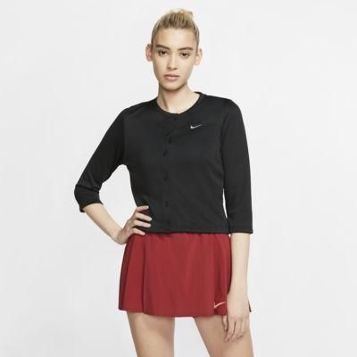 Cardigan da tennis NikeCourt - Donna