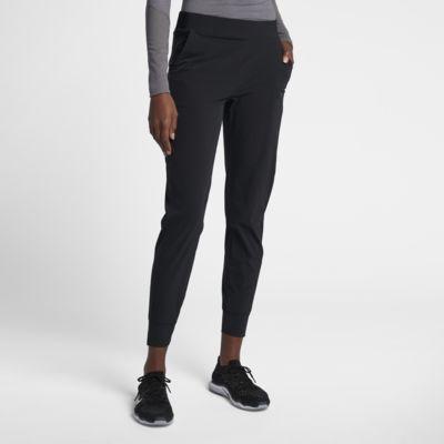 กางเกงเทรนนิ่งเอวปานกลางผู้หญิง Nike Bliss Lux