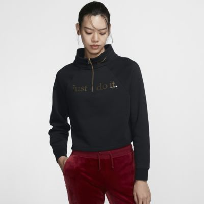 Nike Sportswear Women's Funnel-Neck 1/2-Zip Top
