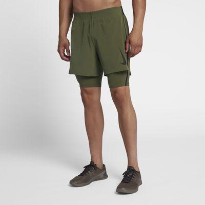 Nike Flex Premium 2'si 1 Arada Erkek Antrenman Şortu