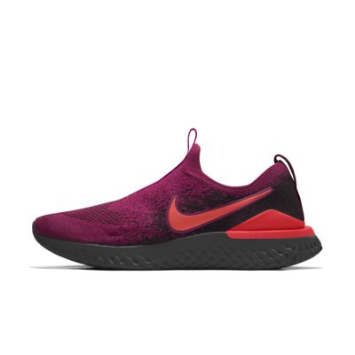 Custom Nike Epic Phantom React Flyknit By You-løbesko til kvinder