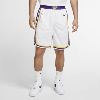 Los Angeles Lakers Association Edition Swingman 男款 Nike NBA 短褲