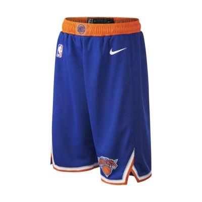 New York Knicks Icon Edition Swingman Pantalón corto Nike de la NBA - Niño/a