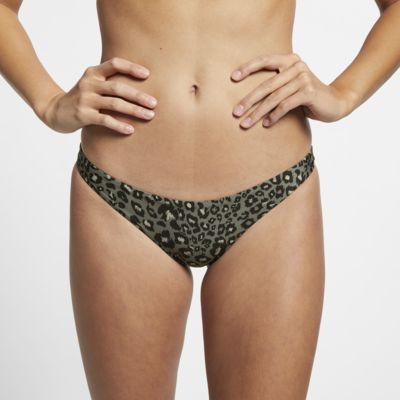 Hurley Quick Dry Part inferior amb estampat de lleopard de surf - Dona