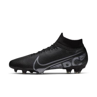 Футбольные бутсы для игры на твердом грунте Nike Mercurial Superfly 7 Pro FG, Черный/Холодный серый/Холодный серый металлик, 23199282, 12627304  - купить со скидкой