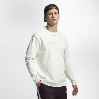 Pánská pleteninová mikina s kulatým výstřihem Nike Sportswear Tech Pack