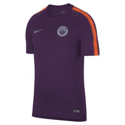 Camisola de futebol Manchester City FC Breathe Squad para homem