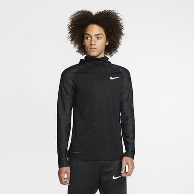 Långärmad huvtröja Nike Pro Therma för män
