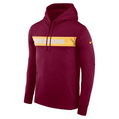 Nike Dri-FIT Therma (NFL Redskins) férfi belebújós kapucnis pulóver
