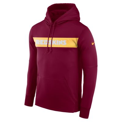 Nike Dri-FIT Therma (NFL Redskins) Men's Pullover Hoodie