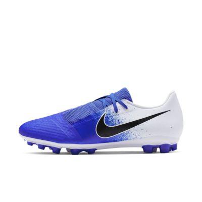 Купить Футбольные бутсы для игры на искусственном газоне Nike Phantom Venom Academy AG-R, Белый/Синий/Черный, 23017230, 12577603