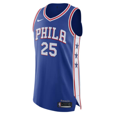 Ben Simmons Icon Edition Authentic Jersey (Philadelphia 76ers) Men's Nike NBA Connected Jersey