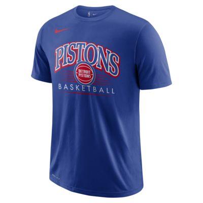 Detroit Pistons Nike Dri-FIT NBA-T-Shirt für Herren