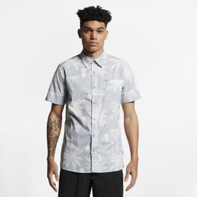 Męska koszula z krótkim rękawem Hurley Asylum Stretch