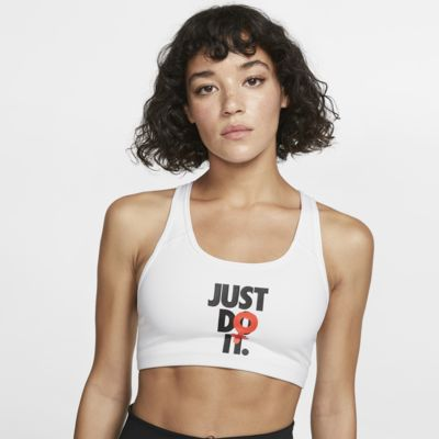 Nike Rebel Swoosh Women's JDI Medium-Support Sports Bra