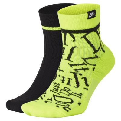 Nike SNKR Sox JDI Ankle 运动袜(2 双)