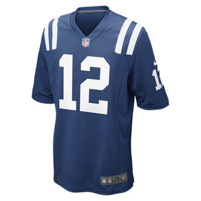 Pánský domácí dres na americký fotbal NFL Indianapolis Colts (Andrew Luck)