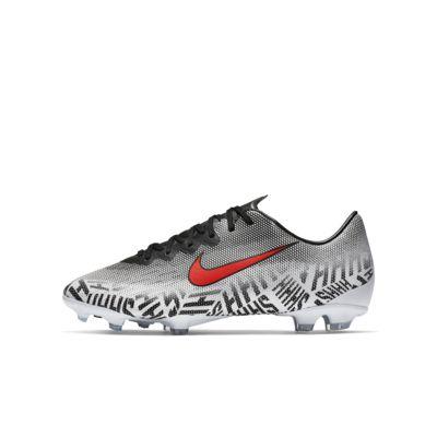Nike Jr. Mercurial Vapor 12 Elite Neymar Jr. FG-fodboldstøvle til græs til store børn