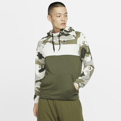 Nike Dri-FIT Men's Fleece Camo Training Hoodie