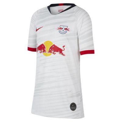 RB Leipzig 2019/20 Stadium Home-fodboldtrøje til store børn