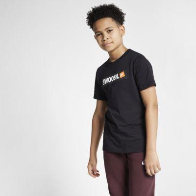 Nike Sportswear Big Kids' (Boys') Swoosh T-Shirt
