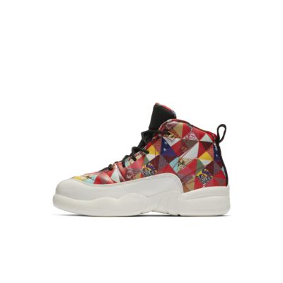 Air Jordan 12 Retro CNY Little Kids' Shoe