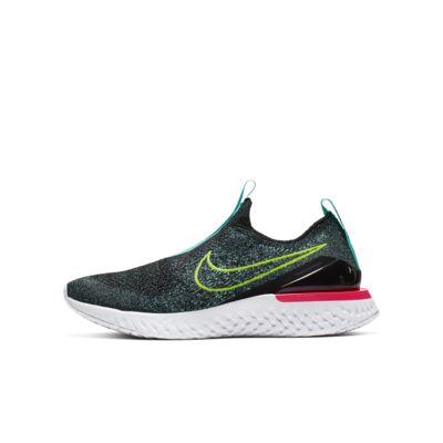 Nike Epic Phantom React Flyknit Big Kids' Running Shoe