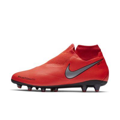 Купить Футбольные бутсы для игры на искусственном газоне Nike Phantom Vision Pro Dynamic Fit AG-PRO, Яркий темно-красный/Тренировочный красный/Черный/Серебристый металлик, 22454878, 12458565