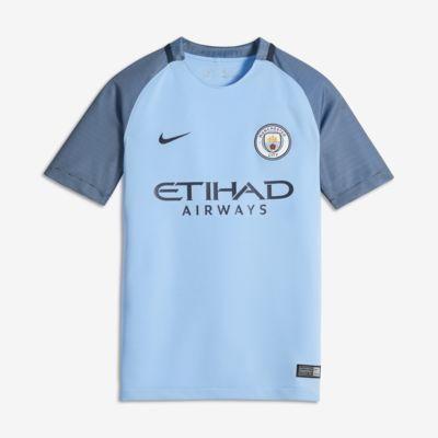 Купить Футбольное джерси для школьников 2016/17 Manchester City FC Stadium Home (XS–XL)