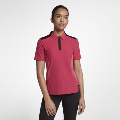 Женская рубашка-поло для гольфа Nike Zonal Cooling