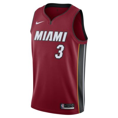 Maillot Nike NBA Swingman Dwyane Wade Heat Statement Edition