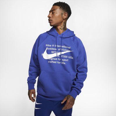 Ανδρική μπλούζα με κουκούλα Nike Sportswear Swoosh
