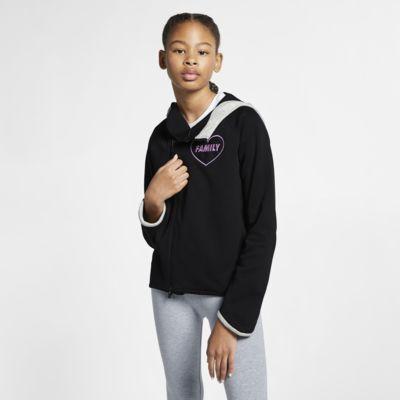 Kirsten's Nike Sportswear Tech Fleece (Doernbecher Freestyle) Big Kids' (Girls') Full-Zip Hoodie