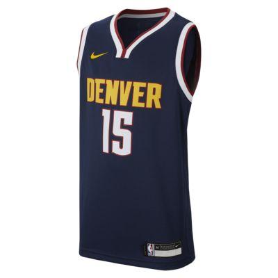 Nikola Jokić Icon Edition Swingman (Denver Nuggets) Big Kids' Nike NBA Jersey