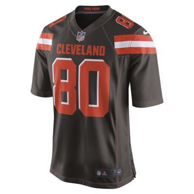 Męska koszulka meczowa do futbolu amerykańskiego NFL Cleveland Browns (Jarvis Landry)