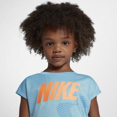 Nike Dri-FIT-T-shirt til småbørn (piger)