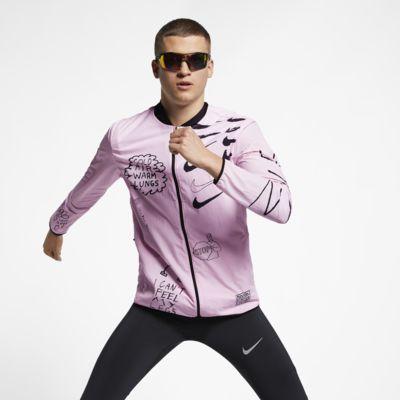 Nike Nathan Bell Hardloopjack met print voor heren