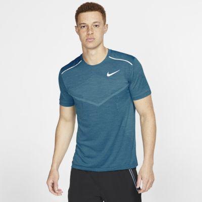 Kortärmad löpartröja Nike TechKnit Ultra för män