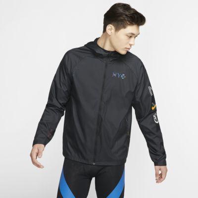 ナイキ レペル NYC メンズ ランニングジャケット