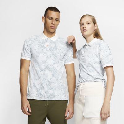 Nike unisex poloskjorte med blomstermønster