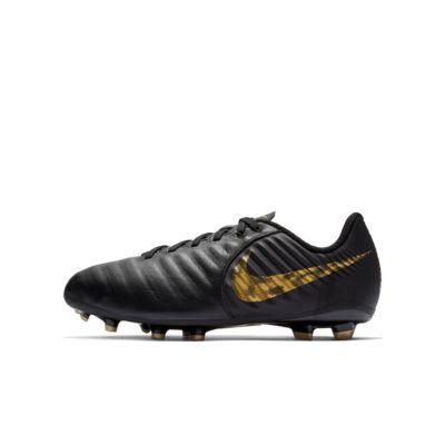 Nike Jr. Legend 7 Academy FG Voetbalschoen voor kleuters/kids (stevige ondergrond)