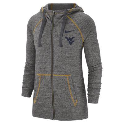 Nike College Gym Vintage (West Virginia) Women's Full-Zip Hoodie