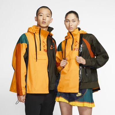 Nike x Sacai-jakke med dobbelt lynlås