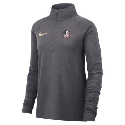 Nike College Therma (Florida State) Women's Long-Sleeve 1/2-Zip Top