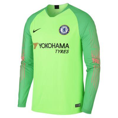 Męska koszulka piłkarska z długim rękawem 2018/19 Chelsea FC Stadium Goalkeeper