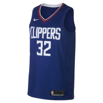 Мужское джерси Nike НБА Blake Griffin Icon Edition Swingman (LA Clippers) с технологией NikeConnect