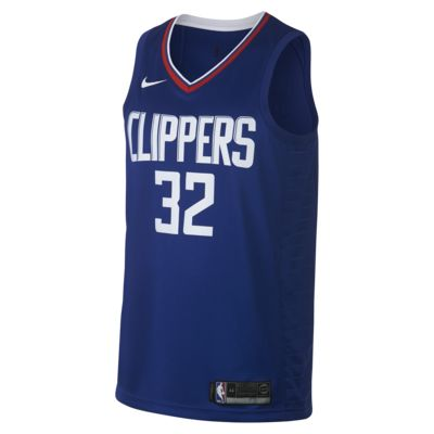 Camiseta conectada Nike NBA para hombre Blake Griffin Icon Edition Swingman (LA Clippers)