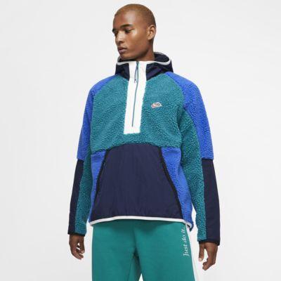 Nike Sportswear Sherpa-Hoodie mit Halbreißverschluss